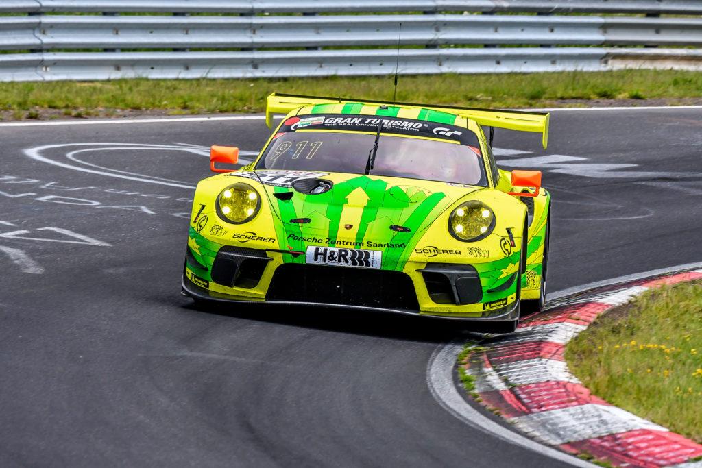Lars Kern Julien Andlauer Manthey Racing Porsche 911 GT3 R Nürburgring Langstrecken-Serie Nürburgring-Nordschleife