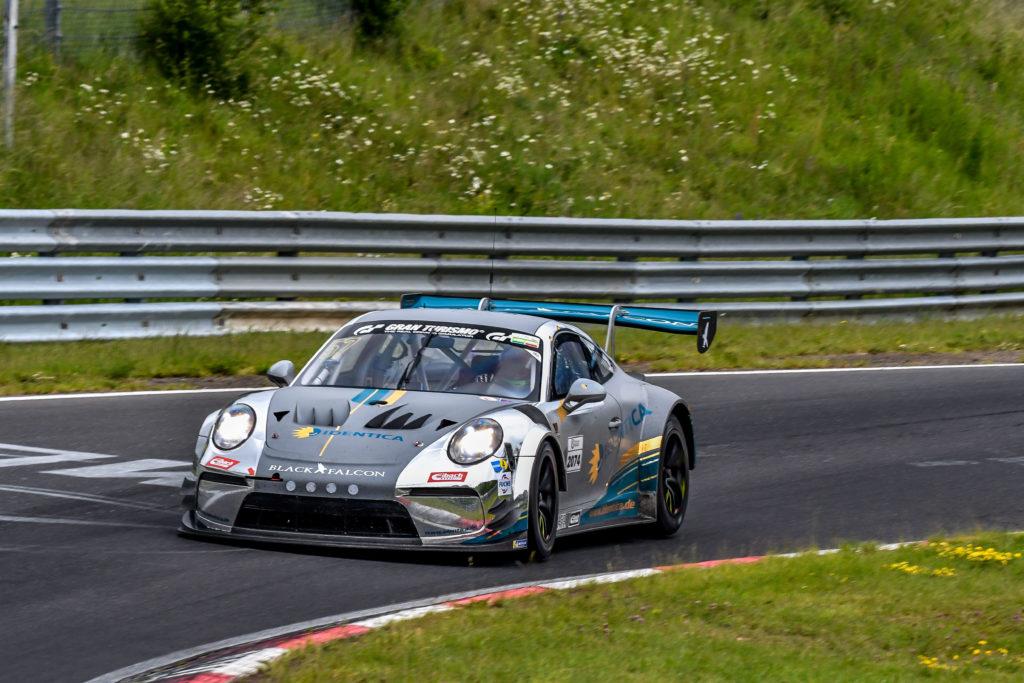 Tobias Müller Marek Böckmann Black Falcon Porsche 911 GT3 Cup MR Nürburgring Langstrecken-Serie Nürburgring-Nordschleife