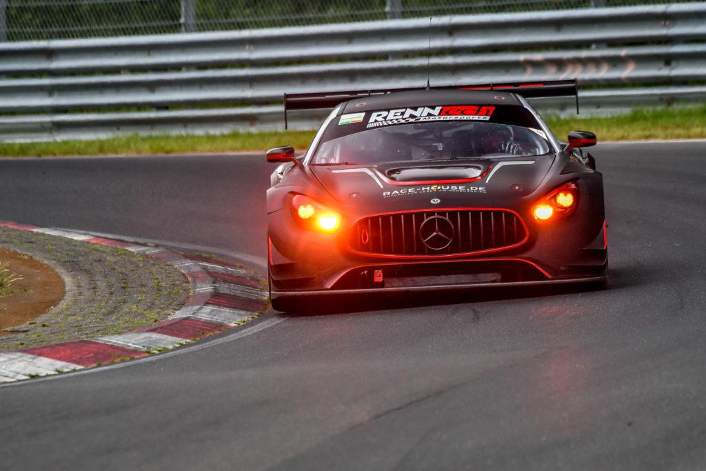 RechTech Mercedes AMG GT3 Nürburgring Langstrecken-Serie Nürburgring-Nordschleife