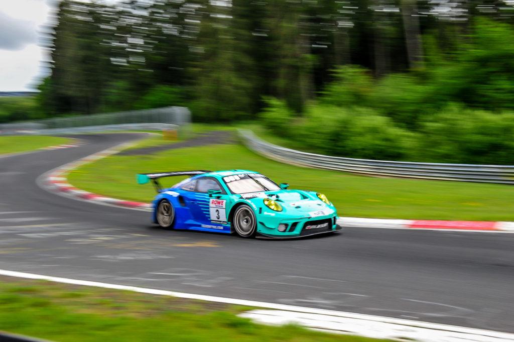 Falken Motorsports Porsche 911 GT3 R Nürburgring Langstrecken-Serie Nürburgring-Nordschleife