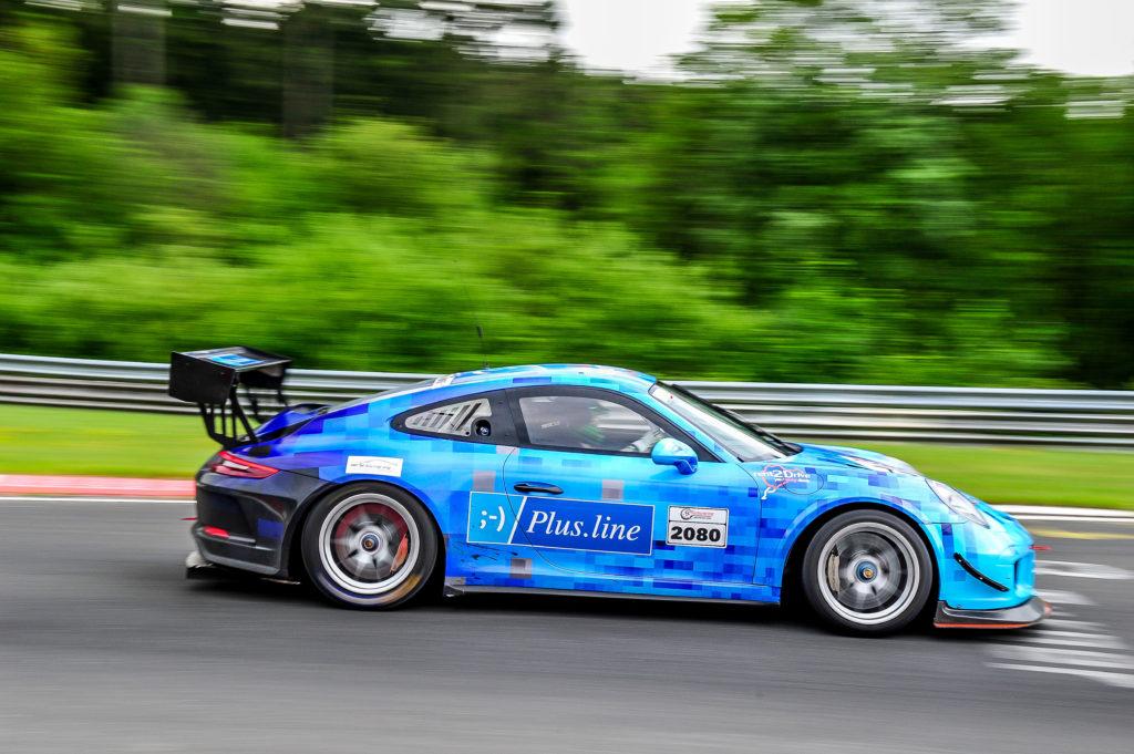 PlusLine Porsche 911 GT3 Cup MR Nürburgring-Langstrecken Serie Nürburgring-Nordschleife