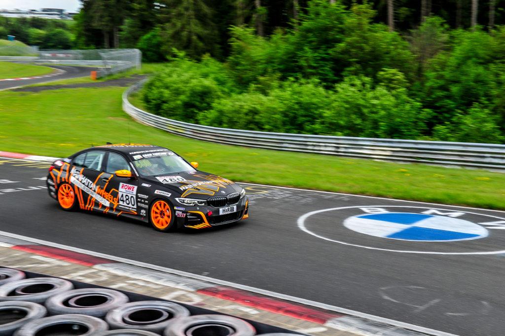 Adrenalin Motorsport BMW 330i Nürburgring Langstrecken-Serie Nürburgring-Nordschleife