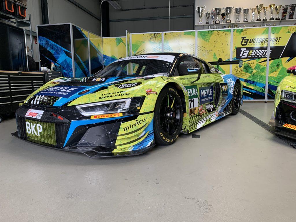 Maximilian Paul Niels Langeveld T3 Motorsport Audi R8 LMS GT3 ADAC GT Masters