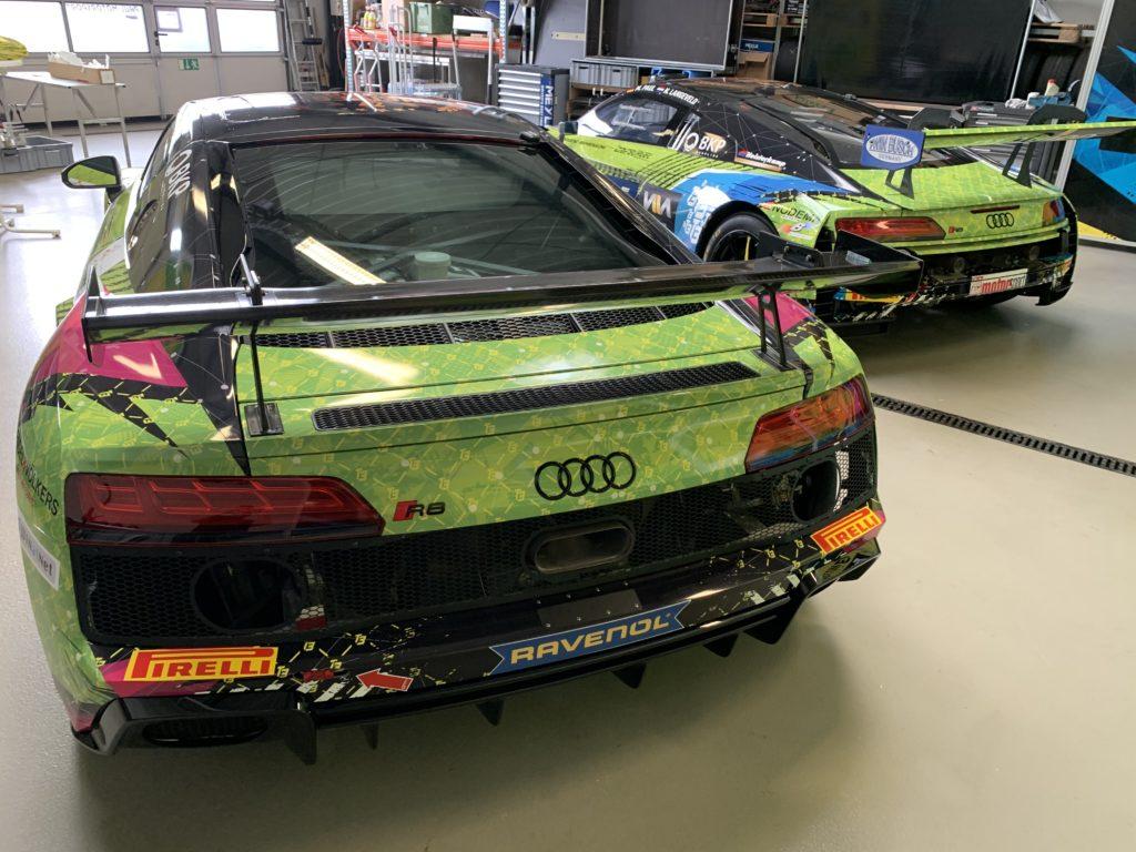 Maximilian Paul Niels Langeveld T3 Motorsport Audi R8 LMS GT3 ADAC GT Masters Dominique Schaak Hugo Sasse T3 Motorsport Audi R8 LMS GT4 ADAC GT4 Germany