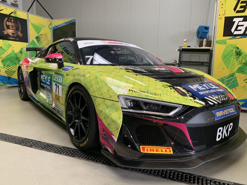 Dominique Schaak Hugo Sasse T3 Motorsport Audi R8 LMS GT4 ADAC GT4 Germany