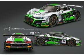 Matthieu Vaxivière Kelvin van der Linde Mirko Bortolotti WRT Audi R8 LMS GT3