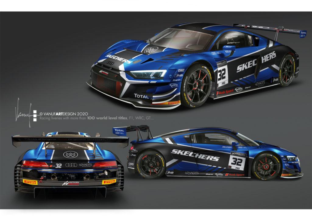 Charles Weerts Dries Vanthoor WRT Audi R8 LMS GT3 GT World Challenge Europe