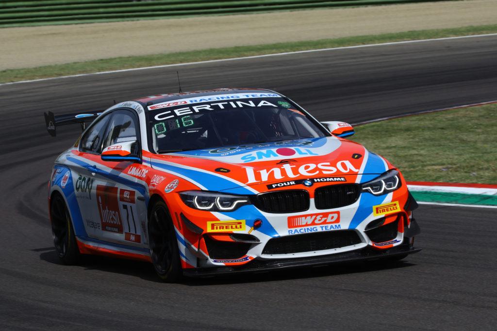 Paolo Meloni Stefano Valli W&D Racing Team BMW M4 GT4 GT4 European Series Imola