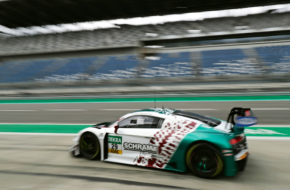 Kim-Luis Schramm Christopher Mies Montaplast by Land-Motorsport Audi R8 LMS GT3 ADAC GT Masters Lausitzring
