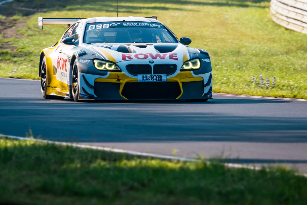Lucas Auer Nick Yelloly ROWE Racing BMW M6 GT3 Nürburgring Langstrecken-Serie Nürburgring-Nordschleife