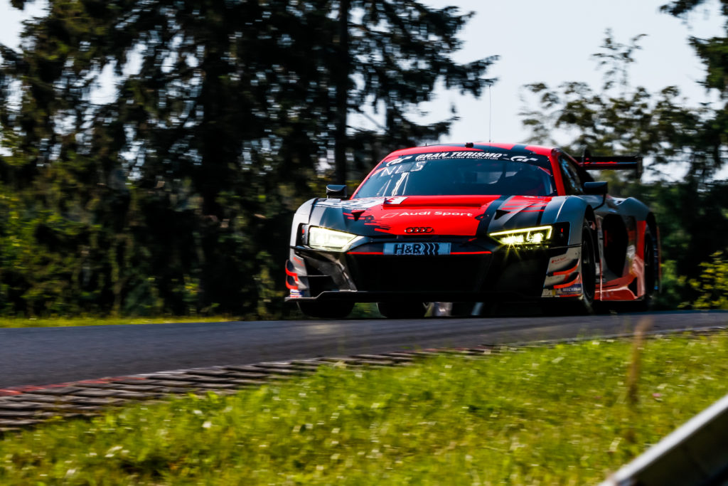 Mirko Bortolotti Christopher Haase Markus Winkelhock Audi Sport Team Car Collection Audi R8 LMS GT3 Nürburgring Langstrecken-Serie Nürburgring-Nordschleife