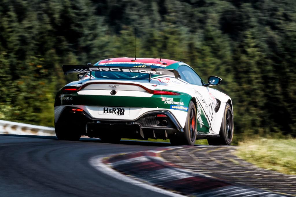 Prosport Racing Plant Weitere Aston Martin Vantage Gt4 Einsätze Gt Place Com