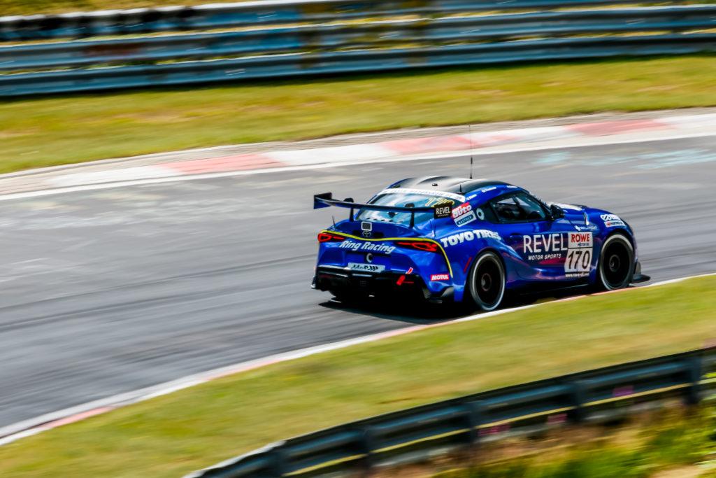 Andreas Gülden Michael Tischner Uwe Kleen Ring Racing Toyota GR Supra GT4 Nürburgring Langstrecken-Serie Nürburgring-Nordschleife