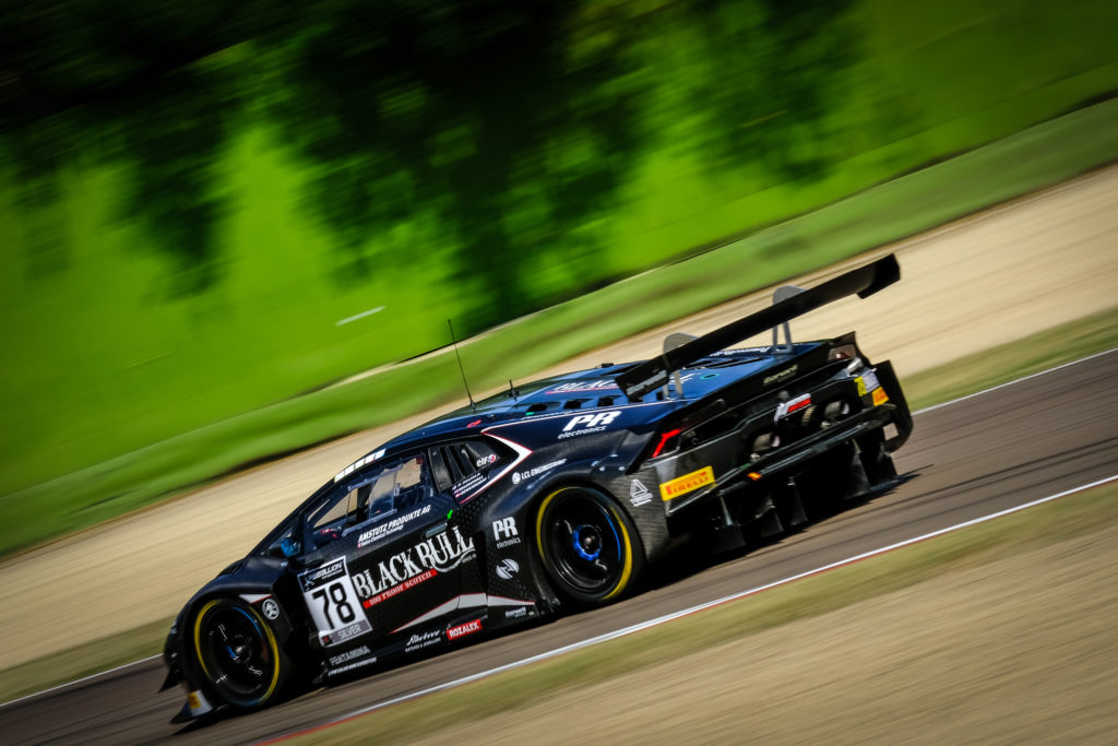 Patrick Kujala Alex MacDowall Frederik Schandorff Barwell Motorsport Lamborghini Huracan GT3 GT World Challenge Europe Endurance Cup Imola