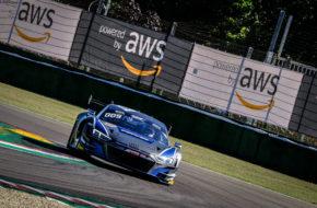 Frédéric Vervisch Mattia Drudi Kim-Luis Schramm Attempto Racing Audi R8 LMS GT3 GT World Challenge Europe Imola