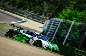 Matthieu Vaxivière Kelvin van der Linde Mirko Bortolotti WRT Audi R8 LMS GT3 GT World Challenge Europe Imola