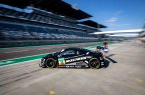Charles Weerts Dries Vanthoor Team WRT Audi R8 LMS GT3 ADAC GT Masters Lausitzring