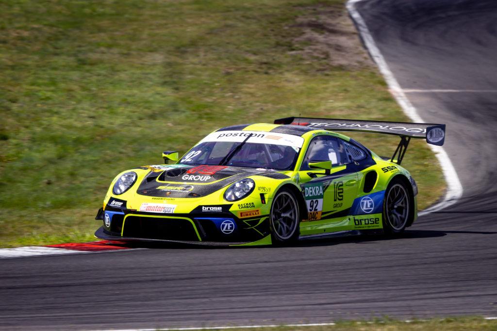 Michael Ammermüller Christian Engelhart SSR Performance ADAC GT Masters Lausitzring