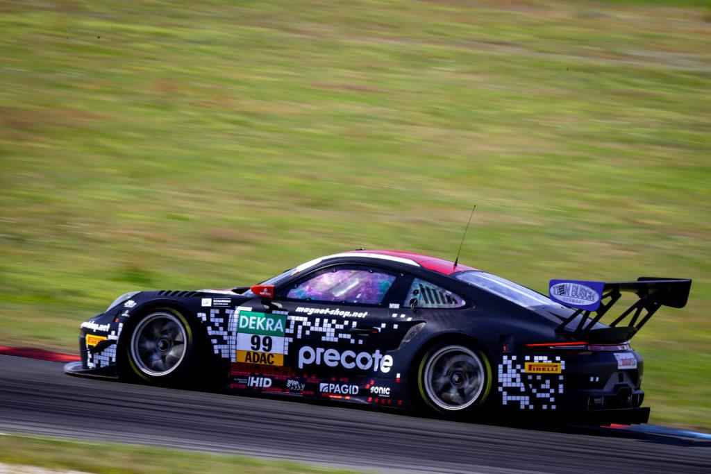 Sven Müller Robert Renauer Herberth Motorsport Porsche 911 GT3 R ADAC GT Masters Lausitzring