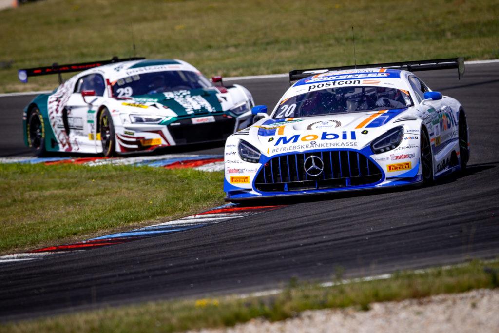 Mick Wishofer Dorian Boccolacci Team Zakspeed BKK Mobil Oil Racing Mercedes AMG GT3 ADAC GT Masters Lausitzring