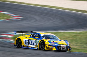 Elia Erhart Pierre Kaffer EFP Car Collection by TECE Audi R8 LMS GT3 ADAC GT Masters Lausitzring