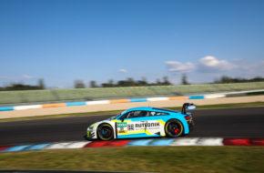 Kelvin van der Linde Patric Niederhauser Rutronik-Racing Audi R8 LMS GT3 ADAC GT Masters Lausitzring