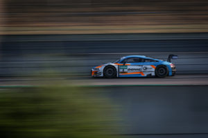 Dennis Marschall Carrie Schreiner Rutronik-Racing Audi R8 LMS GT3 ADAC GT Masters Lausitzring