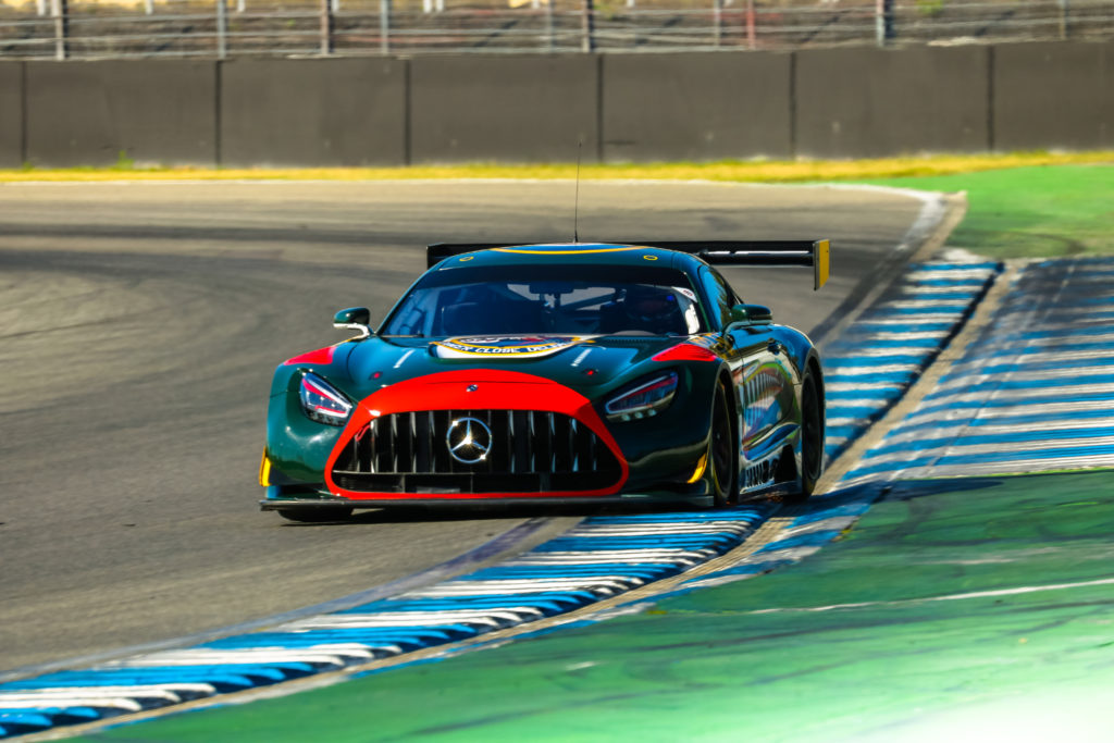 Marc Asbeck Haupt Racing Team Mercedes-AMG GT3 GTC Race Hockenheim