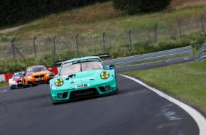 Thomas Preining Dirk Werner Falken Motorsport Porsche 911 GT3 R Nürburgring Langstrecken-Serie Nürburgring-Nordschleife