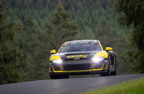 Carrie Schreiner Niklas Kry Henrik Bollerslev WS Racing Audi R8 LMS Nürburgring Langstrecken-Serie Nürburgring-Nordschleife