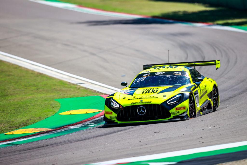 Alessio Lorandi Maximilian Buhk Fabian Schiller GetSpeed Performance Mercedes-AMG GT3 GT World Challenge Europe Endurance Cup Imola