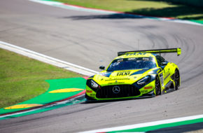 Alessio Lorandi Maximilian Buhk Fabian Schiller GetSpeed Performance Mercedes-AMG GT3 GT World Challenge Europe Endurance Cup Imola