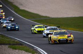 Kim-Luis Schramm Michele Beretta Phoenix Racing Audi R8 LMS GT3 Nürburgring Langstrecken-Serie Nürburgring-Nordschleife