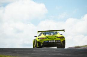 Maximilian Buhk Fabian Schiller Raffaele Marciello GetSpeed Performance Mercedes AMG GT3 Nürburgring Langstrecken-Serie Nürburgring-Nordschleife