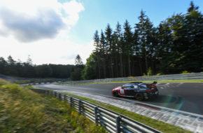 Michael Fischer Gabriele Piana Michael Schrey Hofor Racing by Bonk Motorsport BMW M4 GT4 Nürburgring Langstrecken-Serie Nürburgring-Nordschleife