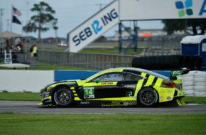 Aaron Telitz Jack Hawksworth AIM Vasser Sullivan Lexus RC F GT3IMSA WeatherTech SportsCar Championship Sebring