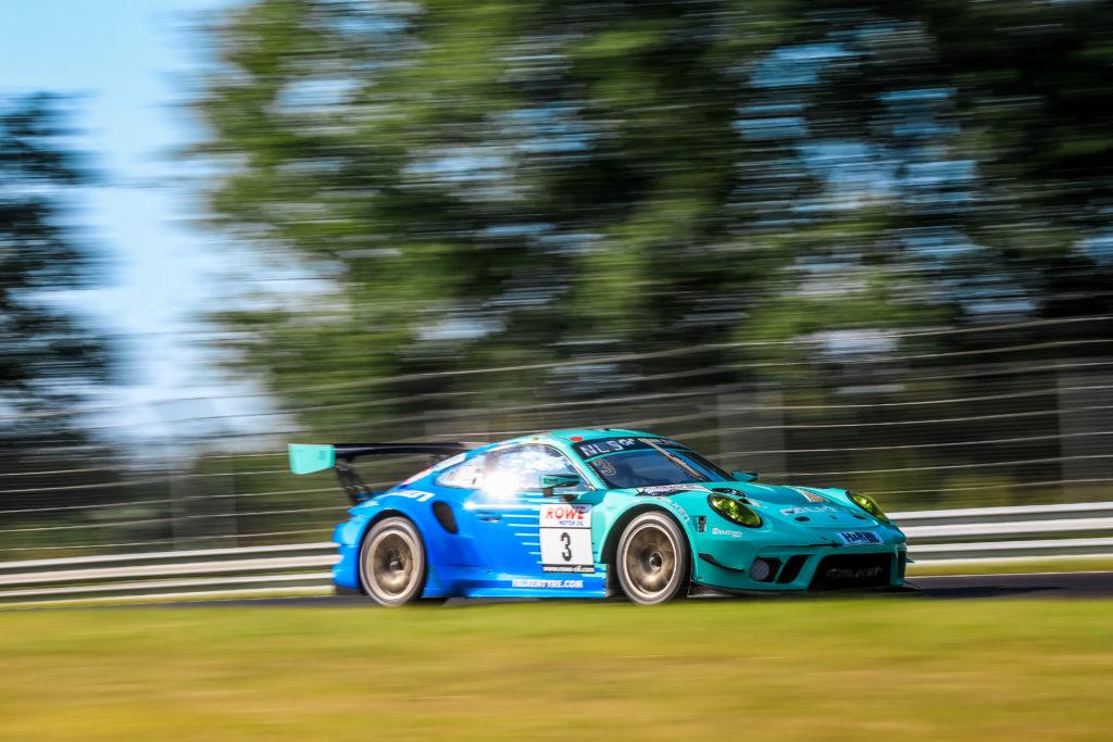 Thomas Preining Christian Engelhart Falken Motorsport Porsche 911 GT3 R Nürburgring Langstrecken-Serie Nürburgring-Nordschleife