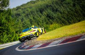 Maximilian Götz Raffaele Marciello GetSpeed Performance Mercedes AMG GT3 Nürburgring Langstrecken-Serie Nürburgring-Nordschleife
