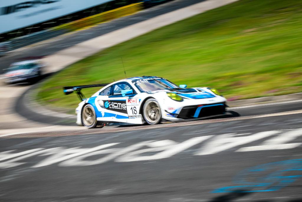 Romain Dumas Patrick Pilet Dennis Olsen KCMG Porsche 911 GT3 R Nürburgring Langstrecken-Serie Nürburgring-Nordschleife