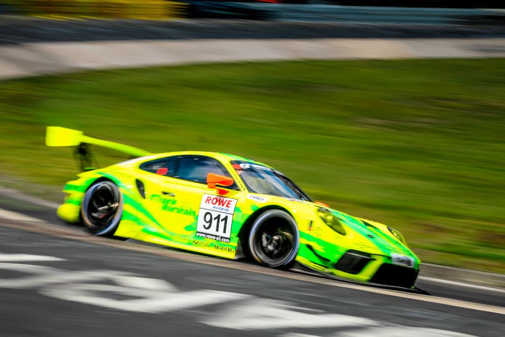 Julien Andlauer Matt Campbell Lars Kern Manthey Racing Porsche 911 GT3 R Nürburgring Langstrecken-Serie Nürburgring-Nordschleife