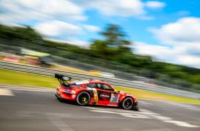 Klaus Abbelen Lance David Arnold Felipe Fernandez Laser Frikadelli Racing Porsche 911 GT3 R Nürburgring Langstrecken-Serie Nürburgring-Nordschleife