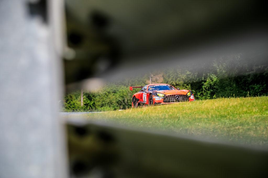 Francois Perrodo Emmanuel Collard GetSpeed Performance Mercedes AMG GT3 Nürburgring Langstrecken-Serie Nürburgring-Nordschleife