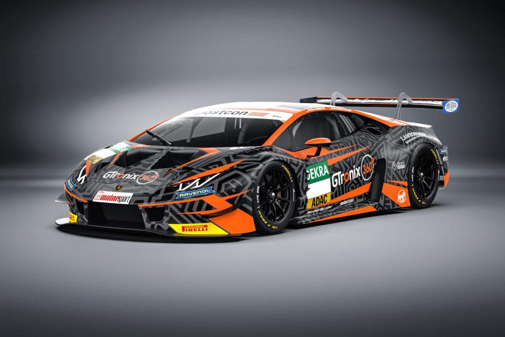 Nico Hülkenberg Danny Kubasik mcchip-dkr Lamborghini Huracan GT3 ADAC GT Masters