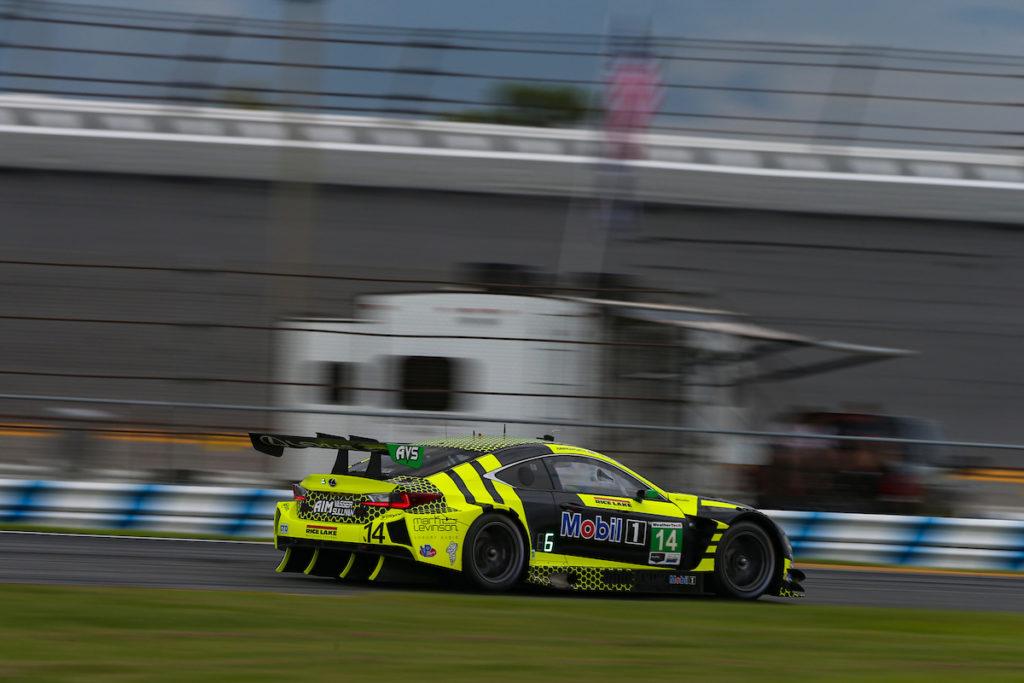 Aaron Telitz Jack Hawksworth AIM Vasser Sullivan Lexus RC F GT3 IMSA WeatherTech SportsCar Championship Daytona
