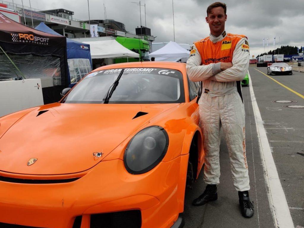 Peter Terting PROsport Racing Porsche Cayman Pro4 DTM trophy