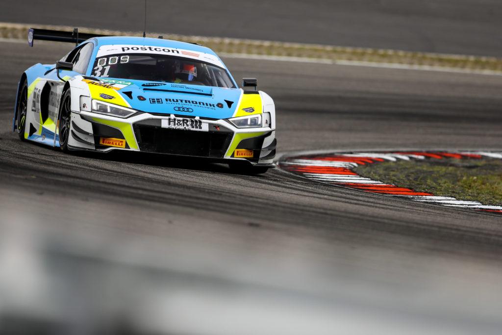 Patric Niederhauser Kelvin van der Linde Rutronik Racing Audi R8 LMS GT3 ADAC GT Masters Nürburgring