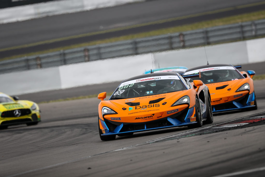 Phil Dörr Fred Martin-Dye Dörr Motorsport McLaren 570S GT4 ADAC GT4 Germany Nürburgring