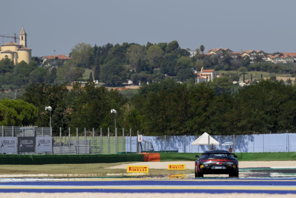 Lluc Ibañez Xavier Lloveras NM Racing Team Mercedes-AMG GT4 GT4 European Series Misano