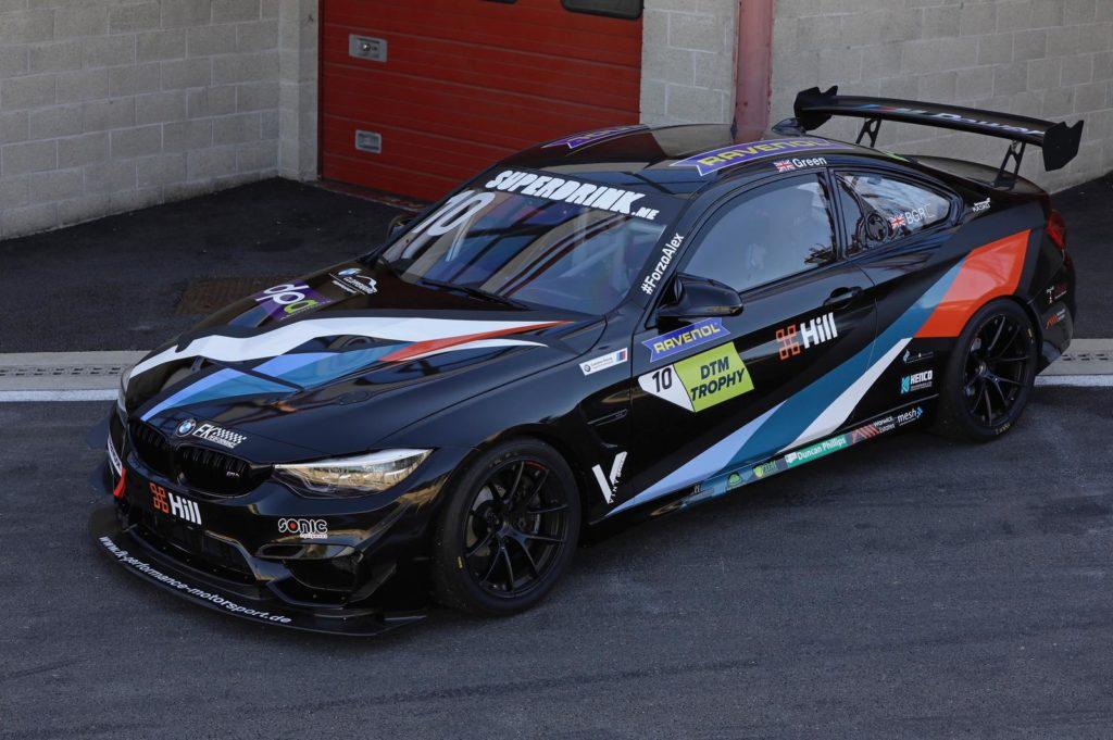 Ben Green FK Performance BMW M4 DTM Trophy
