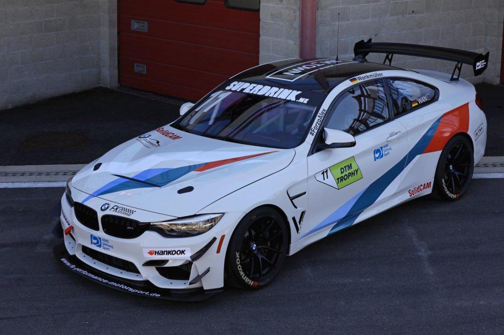 Luke Wankmüller FK Performance BMW M4 DTM Trophy